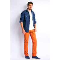 WranglerPantalon Regular Wrangler Arizona Orange Homme