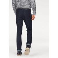 WranglerStretch-Jeans »Greensboro« Regular Straight, blau, Länge 32, rinse-broke