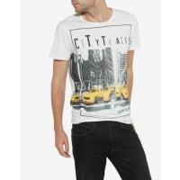 WranglerT-Shirt »S/S Graphic Tee Offwhite« Herren