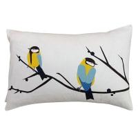 Yellow Front DoorBullfinch Cushion CoverJuneberry Rectangular
