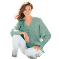 WITT weidenV-ringad tröja, mint