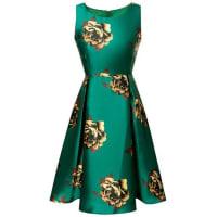 ZafulLarge Floral Print A Line Dress