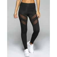 ZafulSee Through Tight Sport Leggings
