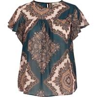 ZizziBedrukte blouse