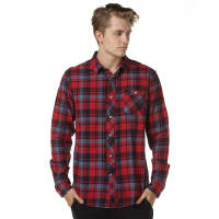 Zoo YorkHunter Mens Ls Shirt Red