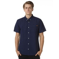 Zoo YorkBattery Ss Mens Shirt Blue