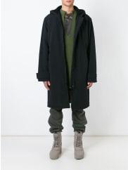 Yeezy by Kanye WestAdidas Originals by Kanye West parka, Adult Unisex, Size: Large, Black, Polyamide/Polyester/Acrylic