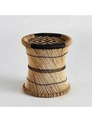 AM.PMBout de canapé Tingda, motif ikat