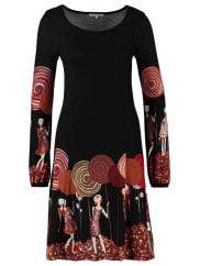 Anna FieldVestito di maglia black/red