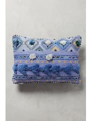 AnthropologieTufted Leyland Cushion