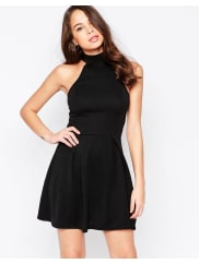 AX PARISSkater Dress with Cut in Neck