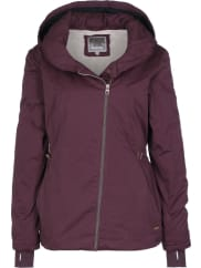 BenchTo-The-Point W winterjas bordeaux rood