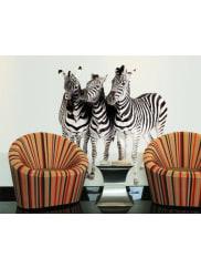 BilderweltenWandtattoo »No.142 Zebras«, schwarz, Schwarz