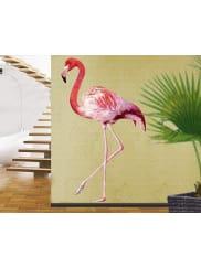 BilderweltenWandtattoo »No.YK21 Pink Flamingo«, bunt, Farbig