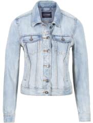 BodyflirtDames jeansjack in blauw - BODYFLIRT