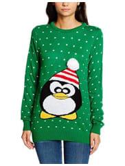 BoohooWomens Penguin Christmas Jumper