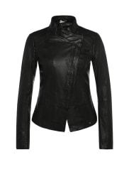 Boss Orange by Hugo BossSlim-fit biker-style leather jacket: Jopida5