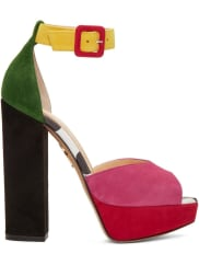 Charlotte OlympiaColor Block Eugenie 145mm Heeled Sandal