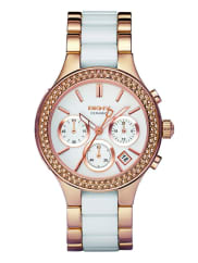 DKNYCHAMBERS Chronograph rosegoldcoloured