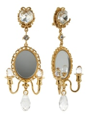 Dolce & GabbanaChandelier Clip Earrings