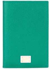 Dolce & GabbanaDauphine passport holder, Womens, Green