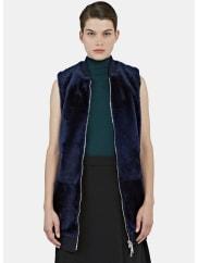 DromeLong Lamb Fur Gilet