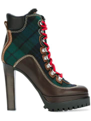 Dsquared2Saint Moritz ankle boots, Womens, Size: 38, Green