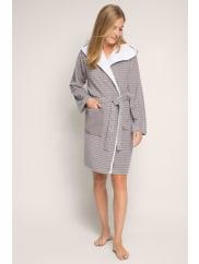 EspritFrottier-Kimono aus Baumwoll-Mix für Damen Grey