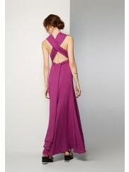 Fame & PartnersMagenta Kendall Multi-Way Dress