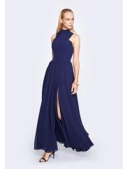Fame & PartnersNavy Chelsea Queen Dress