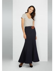 Fame & PartnersNavy Rocha Skirt Dress