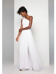 Fame & PartnersWhite Odessa Dress