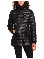 G-StarWhistler Slim Coat Wmn, Chaqueta para Mujer, Negro (Black 990), Large (Talla del Fabricante: Large)