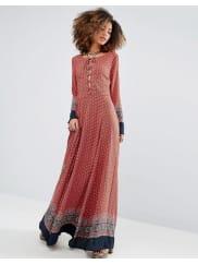 GlamorousPaisley Maxi Dress