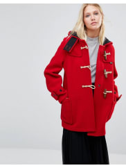 GloverallMid Monty Coat in Red