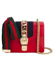 Guccimini Sylvie chain bag, Womens, Red
