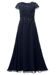 Guido Maria KretschmerGroße Größe: Guido Maria Kretschmer Damen Abendkleid blau Normal-Größen Für festliche Anlässe
