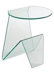 HeineBeistelltisch transparent ca. 54/45/41 cm