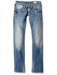 HerrlicherDamen Straight Leg Jeanshose Piper Denim Stretch
