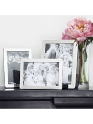 Hersey SilversmithsPersonalised Solid Silver Photograph Frames