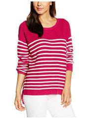 Tommy HilfigerWomens Thdw Basic Stripe Cn Sweater L/S 10 Sweatshirts