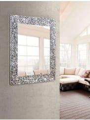 HOME AFFAIREWandspiegel »Perth«, 55/95, silberfarben, Größe: 71/111 cm, Silber