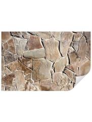 HOME AFFAIREWandtattoo »Mediterrane Mauer«, 120/80 cm, braun, braun