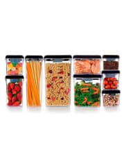 IbiliEmpty Container Square Stackable 400 Ml 400 Ml