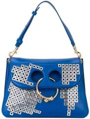 J.W.Andersonring shoulder bag, Womens, Blue