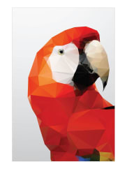 JuniqeGeo Parrot Red-Tapete