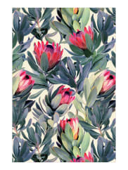 JuniqePainted Protea Pattern-Tapete