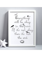Karin ÅkessonEverything Will Be Okay Print