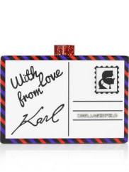 Karl LagerfeldPostcard Miniaudiere - Black
