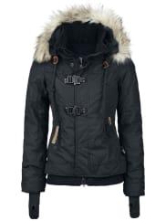 KhujoAshley Girl-Winter-Jacke schwarz